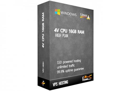 VPS 4vCPU 16GB RAM