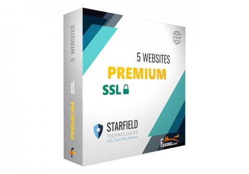 SSL Premium 5 Sites