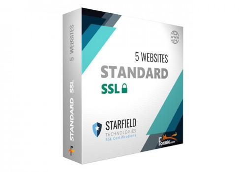 SSL Standard 5 Sites